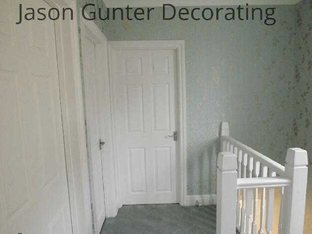 Wallpapering and painting Bridgend